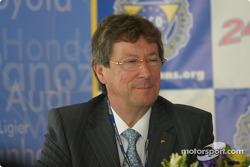 Daniel Poissenot, Clerk of the Course