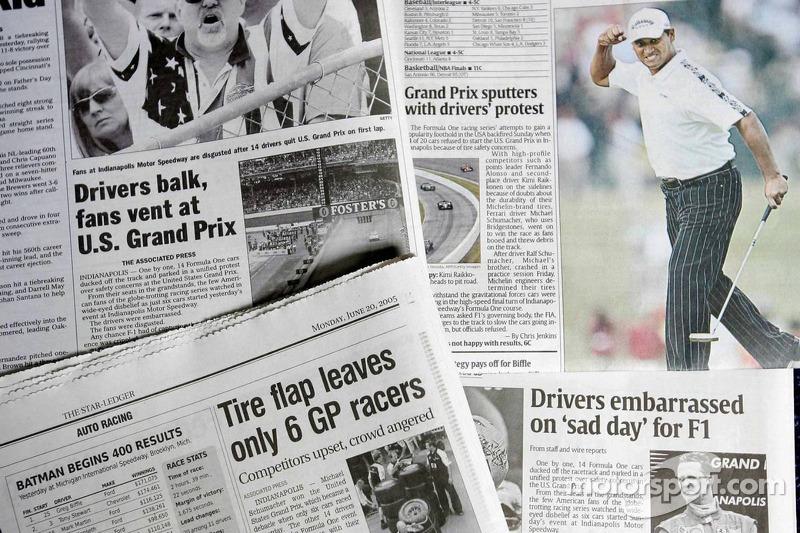 Las notas de los periódicos el día después del GP