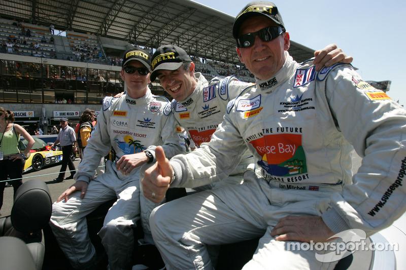 Tim Mullen, Phil Bennett and Ian Mitchell