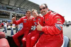 Stéphane Daoudi, Jean-René de Fournoux and Jim Matthews