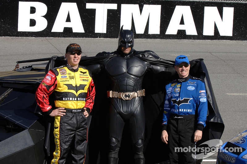 Ricky Craven and Mark Martin meet Batman