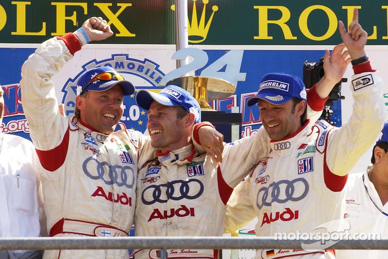 2005: JJ Lehto, Marco Werner, Tom Kristensen