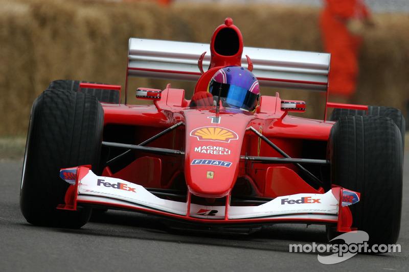 Ferrari F2001, classe 16 : Frank Mountain