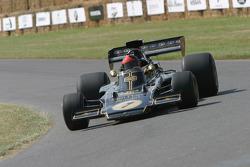#72 1973 Lotus-Cosworth 72E, class 10: Emerson Fittipaldi