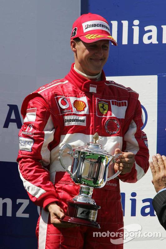 Podio: Michael Schumacher