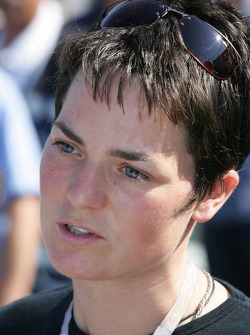 British sailing star Ellen MacArthur
