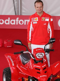 Vodafone event at Hockenheim Talhaus: Rubens Barrichello