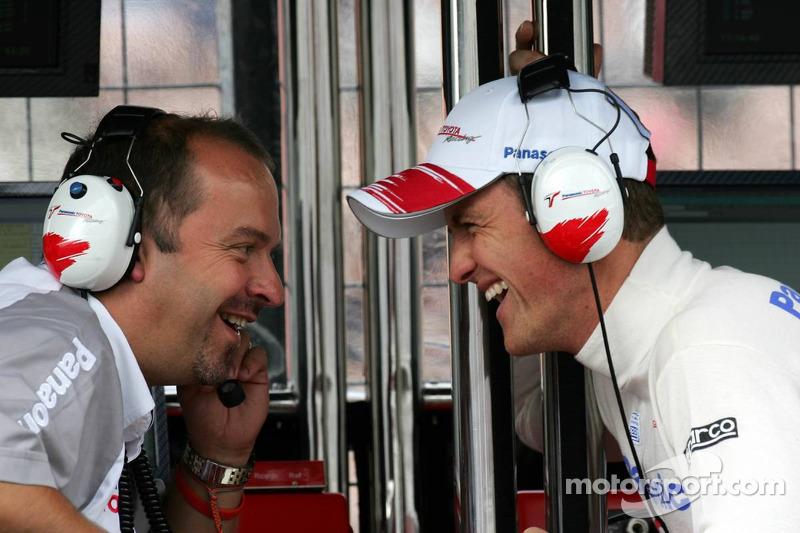 Mike Gascoyne y Ralf Schumacher
