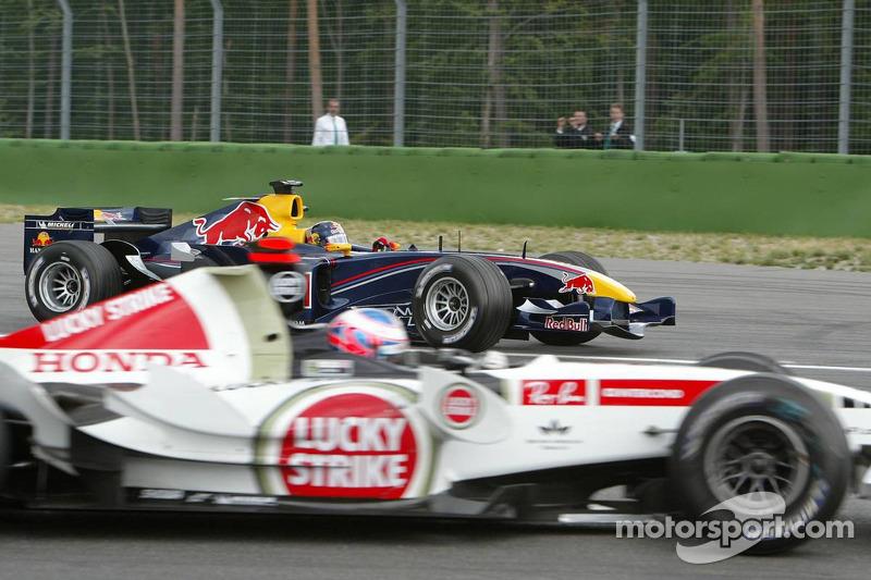 Jenson Button y Christian Klien