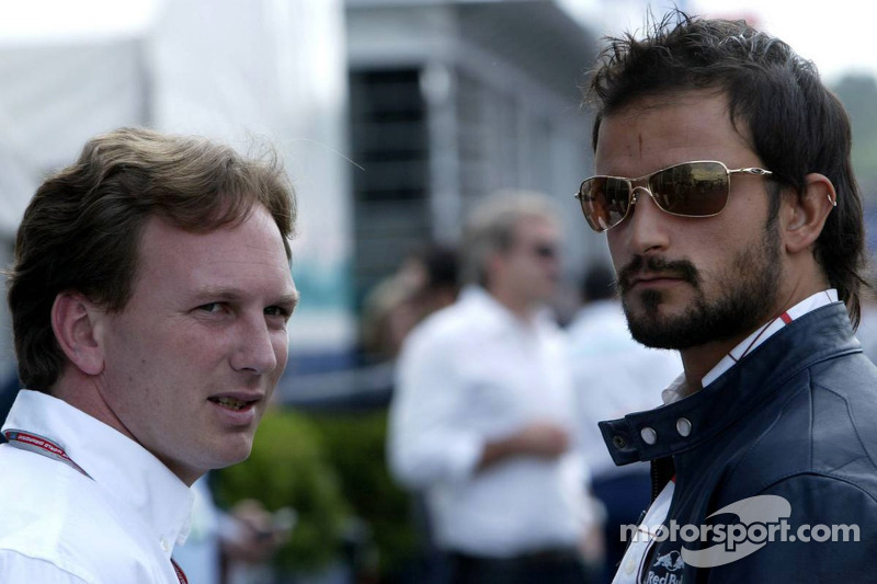 Christian Horner and Vitantonio Liuzzi