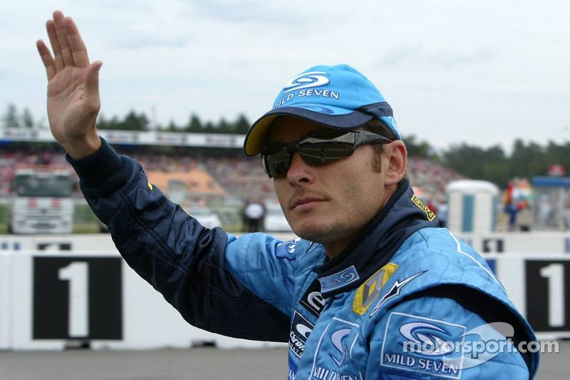 Presentación de pilotos: Giancarlo Fisichella