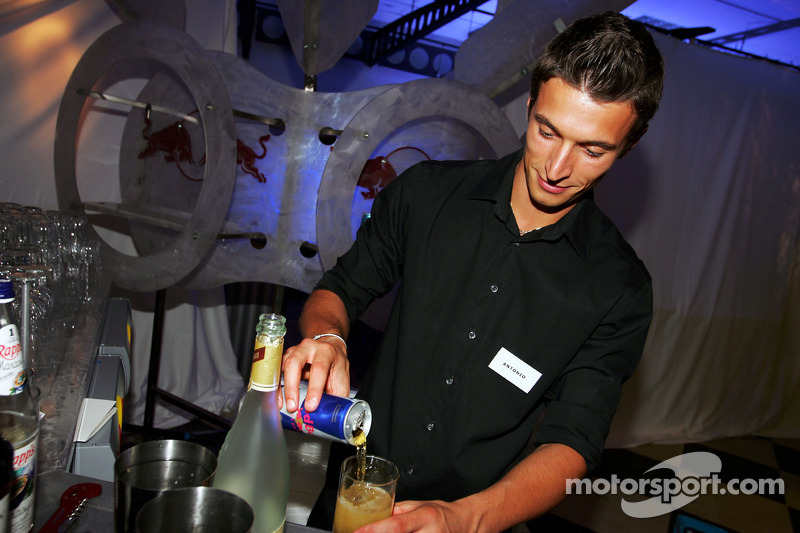 Red Bull Petit Prix en Manheim: bebidas