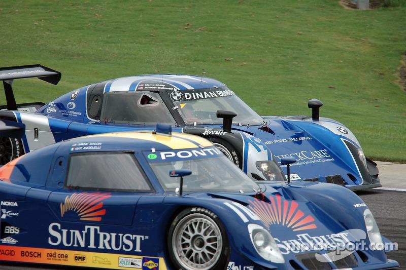 #10 SunTrust Racing Pontiac Riley: Wayne Taylor, Max Angelelli, #19 Finlay Motorsports BMW Riley: Michael McDowell, Memo Gidley