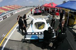 Howard - Boss Motorsports pit area