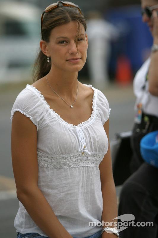 Krissie Newman At Watkins Glen