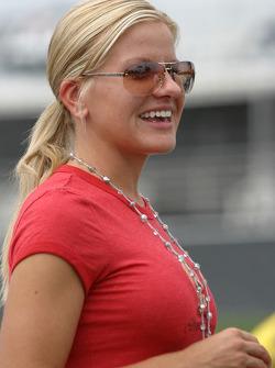 Girlfriend of Kurt Busch, Eva Bryan