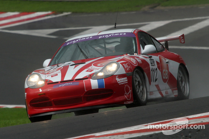 #112 Jean-Charles Levy Porsche 996 GT3 Cup: Philippe Noziere, Remy Brouard, Philippe Levy, Jean-Charles Levy