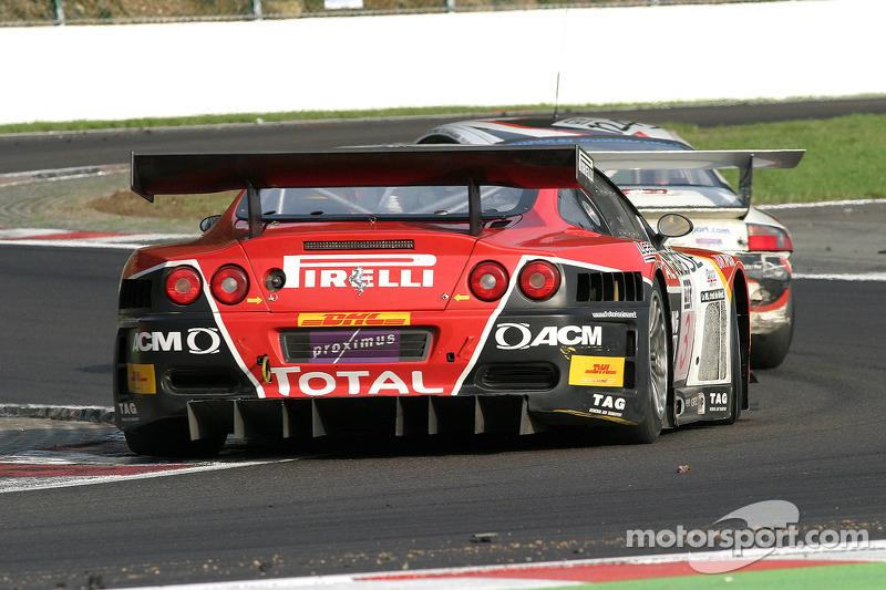 G.P.C. Sport Ferrari 575 M Maranello : Jean Philippe Belloc, Stéphane Lemeret, Loic Deman, Stefano Livio