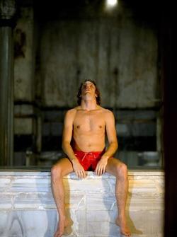 Visit of a Turkish baths: Jenson Button