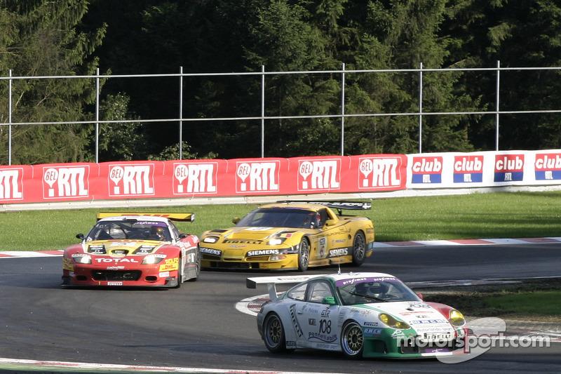 #108 Autorlando Sport Porsche 996 GT3-RS: Daniel Model, Gianpaolo Tenchini, Salvator Riolo, Dario Ce