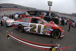 Tech inspection for the Motorcraft Ford