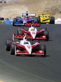 Scott Dixon and Giorgio Pantano
