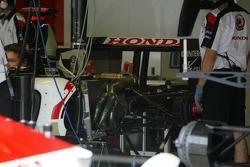 Rear end of the BAR Honda 007