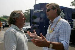 Keke Rosberg and Markku Alen