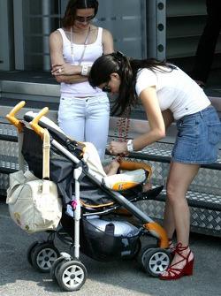 Connie Montoya and baby boy Sebastian