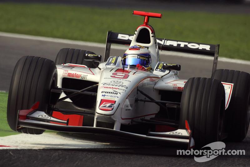 2005年:代表ART车队参加GP2系列赛