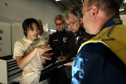 Hayanari Shimoda and Tom Chilton