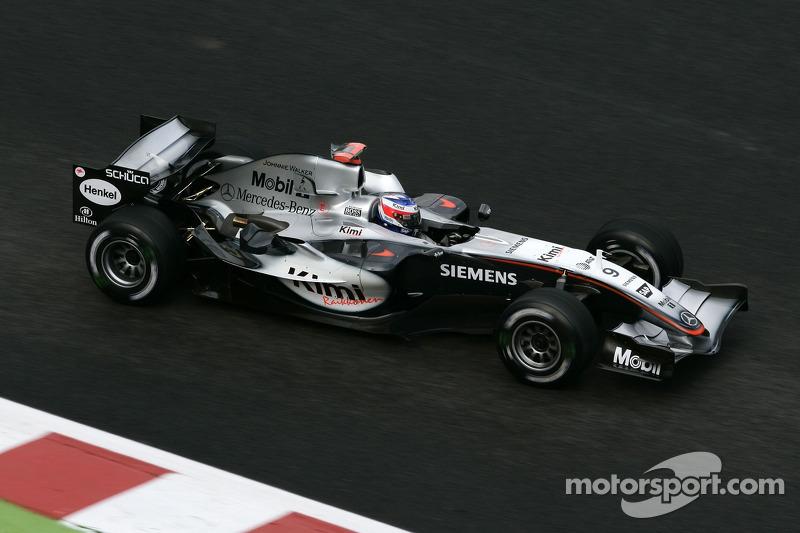 2005: Kimi Räikkönen (McLaren-Mercedes MP4-20)
