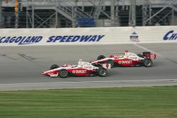 Scott Dixon and Jaques Lazier