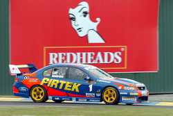 Series leader Marcos Ambrose out of Turn 1