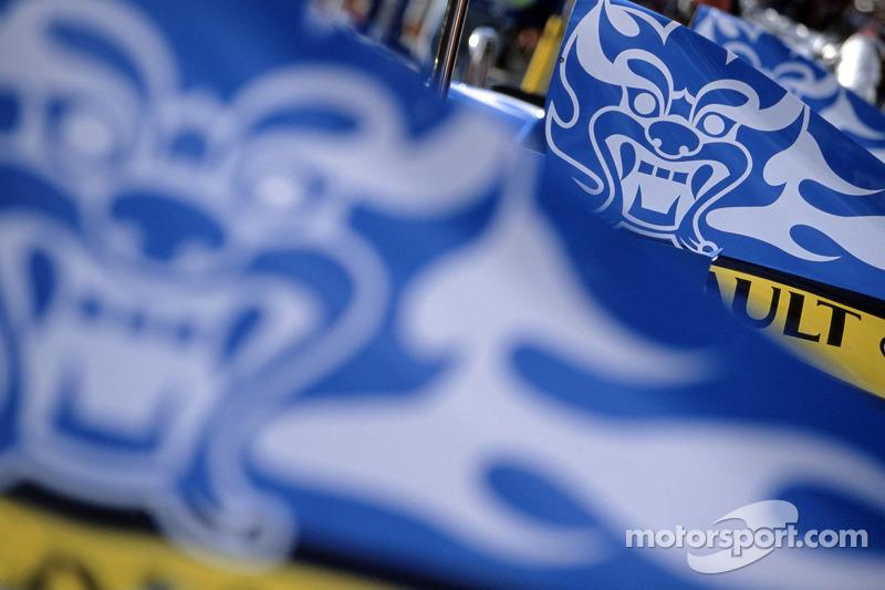 Cubiertas del motor Renault F1