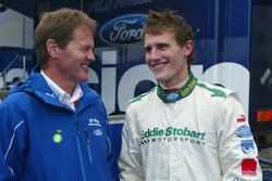 Matthew Wilson with dad Malcolm