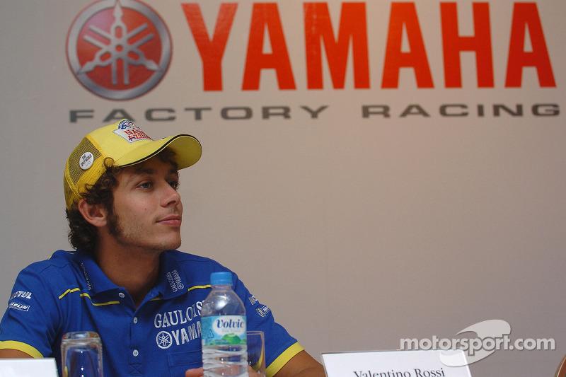 Conferencia de prensa de Yamaha: Valentino Rossi