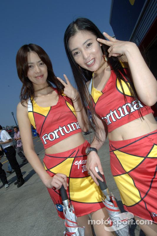 Encantadoras chicas de Fortuna