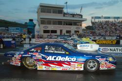 Kurt Johnson led Pro Stock qualifying