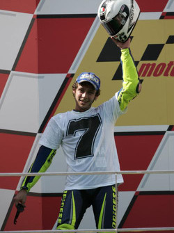 Podium: 2005 World Champion Valentino Rossi