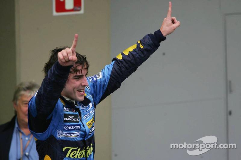 Formel-1-Weltmeister 2005: Fernando Alonso, Renault