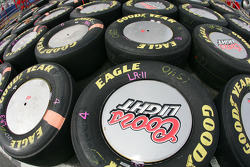 Race tires for Sterling Marlin
