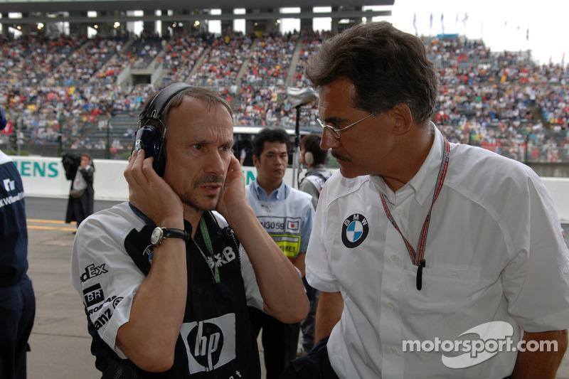 Dr. Heinz Paschen y Dr. Mario Theissen