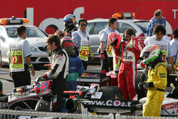 Drivers in parc fermé