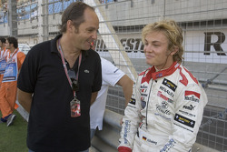 Gerhard Berger and Nico Rosberg