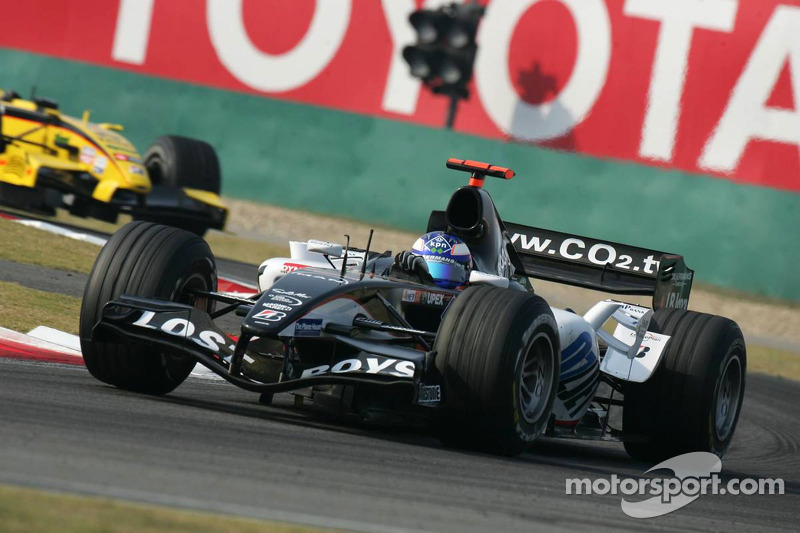 Sauber потеснила Minardi
