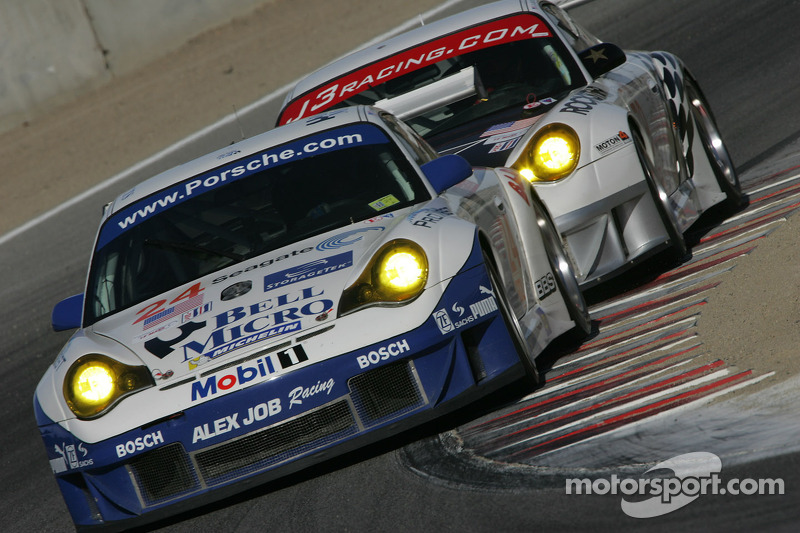 Alex Job Racing Porsche 911 GT3 RSR : Ian Baas, Darren Law