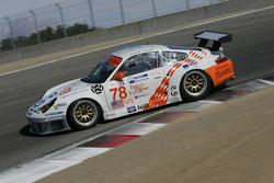 #78 J3 Motorsport Porsche 911 GT3 RSR: Marco Petrini, Maurizio Fabris