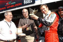 Dan Wheldon receives Speed driver of the year award