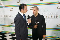 Helio Castroneves and Tony Kanaan